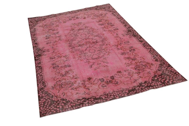 Roze vintage vloerkleed 274cm x 167cm nr1132
