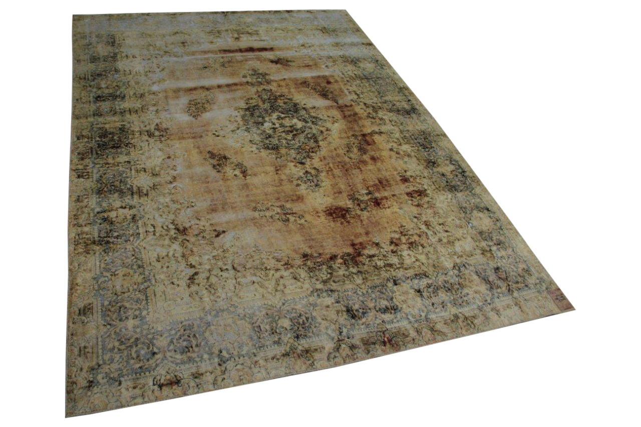 Antiek vloerkleed uit perzie