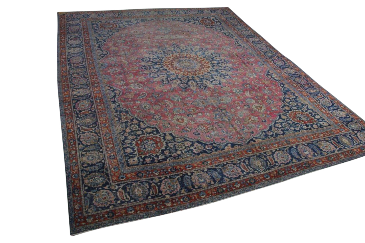 Oud perzisch vloerkleed 420042 404cm x 301cm