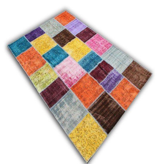 Multicolor patchwork 09  (303cm x 200cm)
