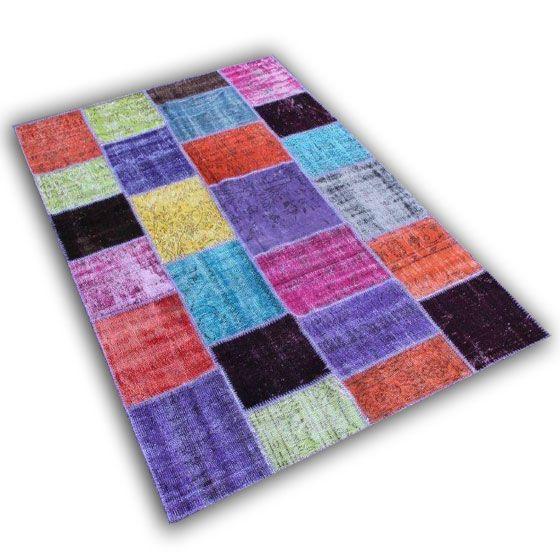 Multicolor patchwork EL11 (249cm x 170cm)