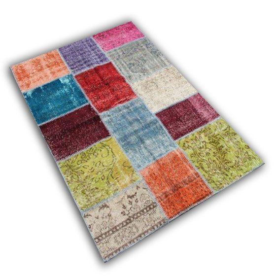 Multicolor patchwork 08 (200cm x 140cm)
