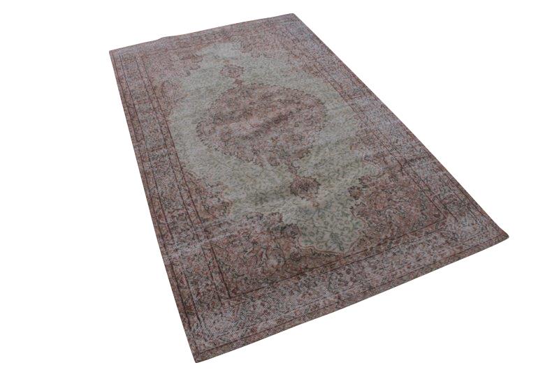 Licht vintage tapijt 276cm x 166cm (nr1249)