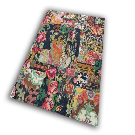 Kelim patchwork 1867 (232cm x 178cm)