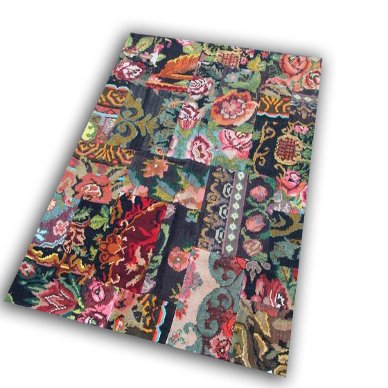 Kelim patchwork 1896 (194cm x 146cm)