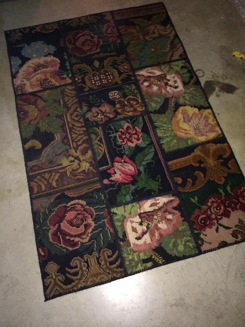 Kelim patchwork 501 (186cm x 1123cm)