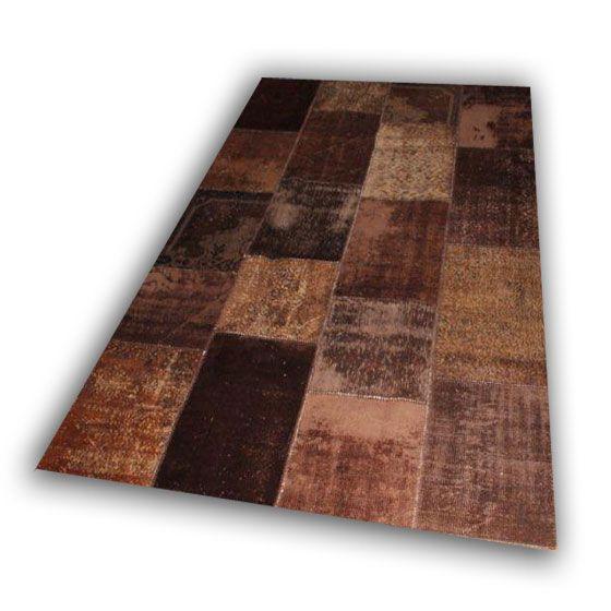 Bruin tapijt 536 (300cm x 200cm)