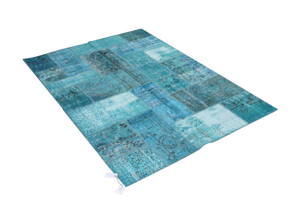 Vintage patchwork vloerkleed 811 (241cm x 171cm) gereserveerd