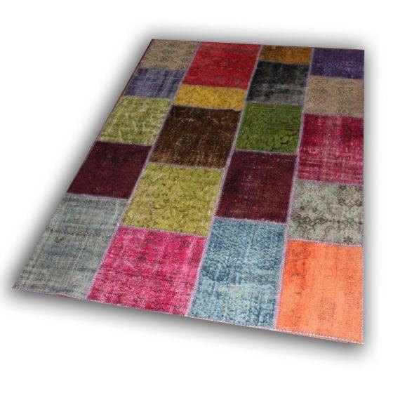 Patchwork tapijt 870 (241cm x 170cm)
