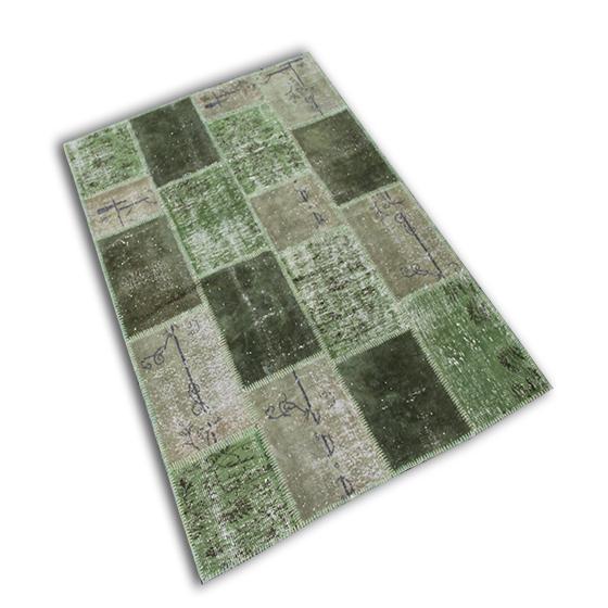 Recoloured patchwork 41 (243cm x 172cm)