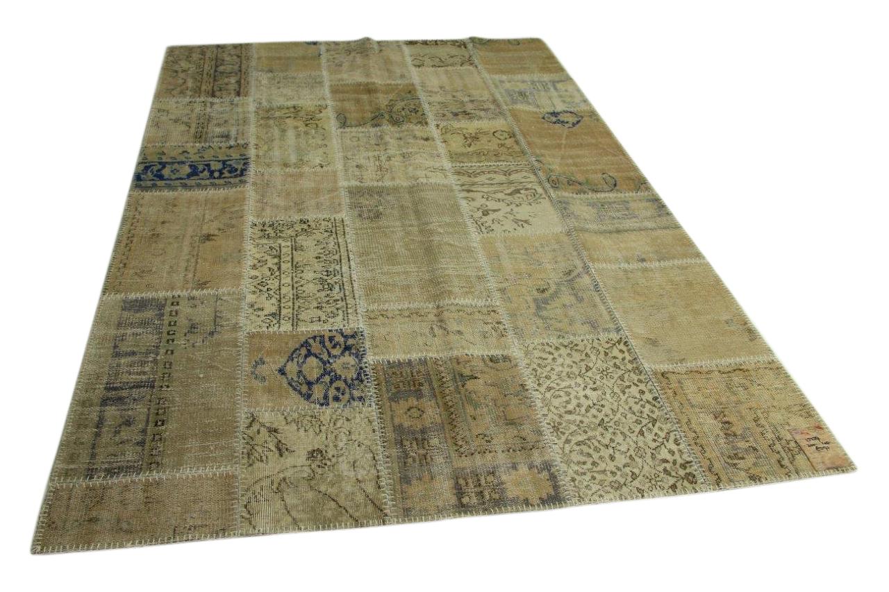 patchwork vloerkleed 300cm x 200cm nr15559