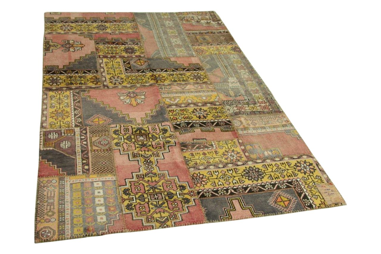 patchwork vloerkleed 242cm x 161cm nr13202
