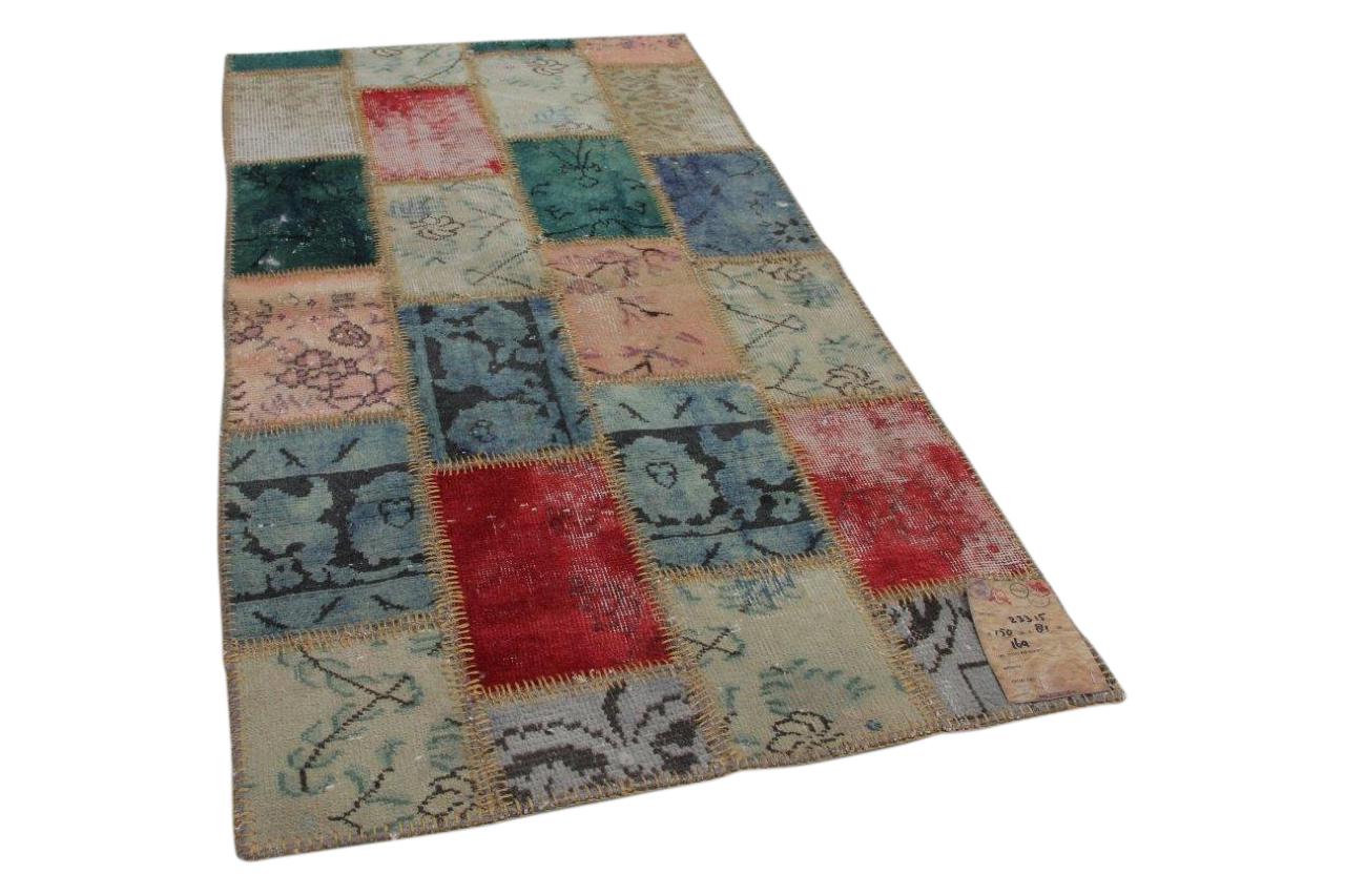 patchwork vloerkleed uit Turkije