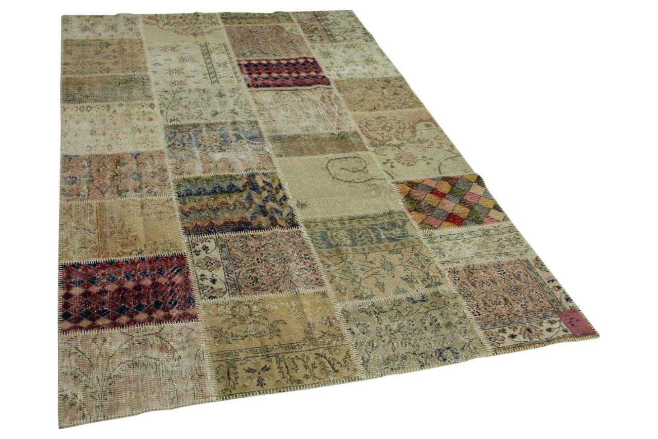 patchwork vloerkleed 300cm x 200cm nr9872