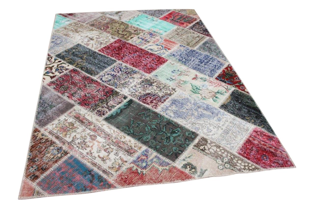 Patchwork vloerkleed diverse kleuren nr.35823 232cm x 161cm