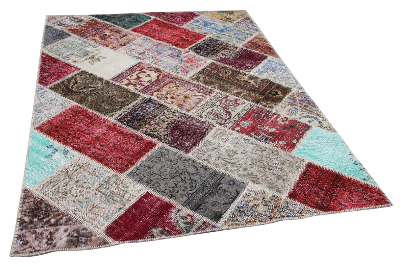 Patchwork vloerkleed diverse kleuren nr.35462 233cm x 161cm