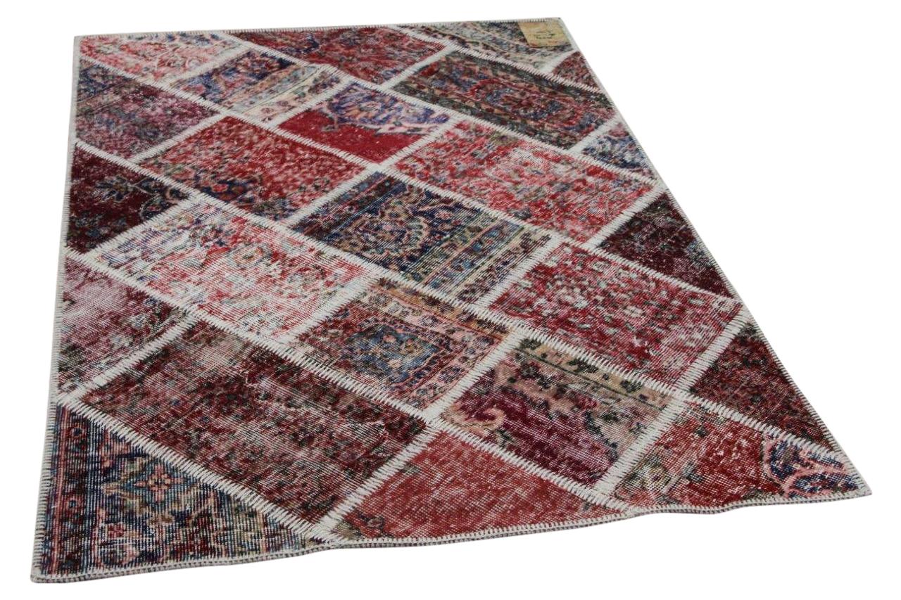 Vintage patchwork rood