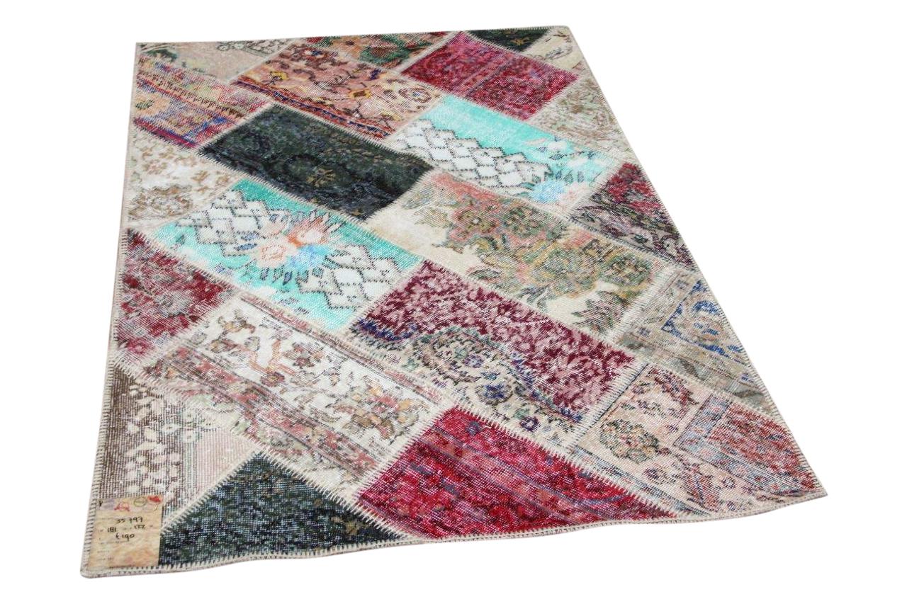 patchwork vloerkleed 35797