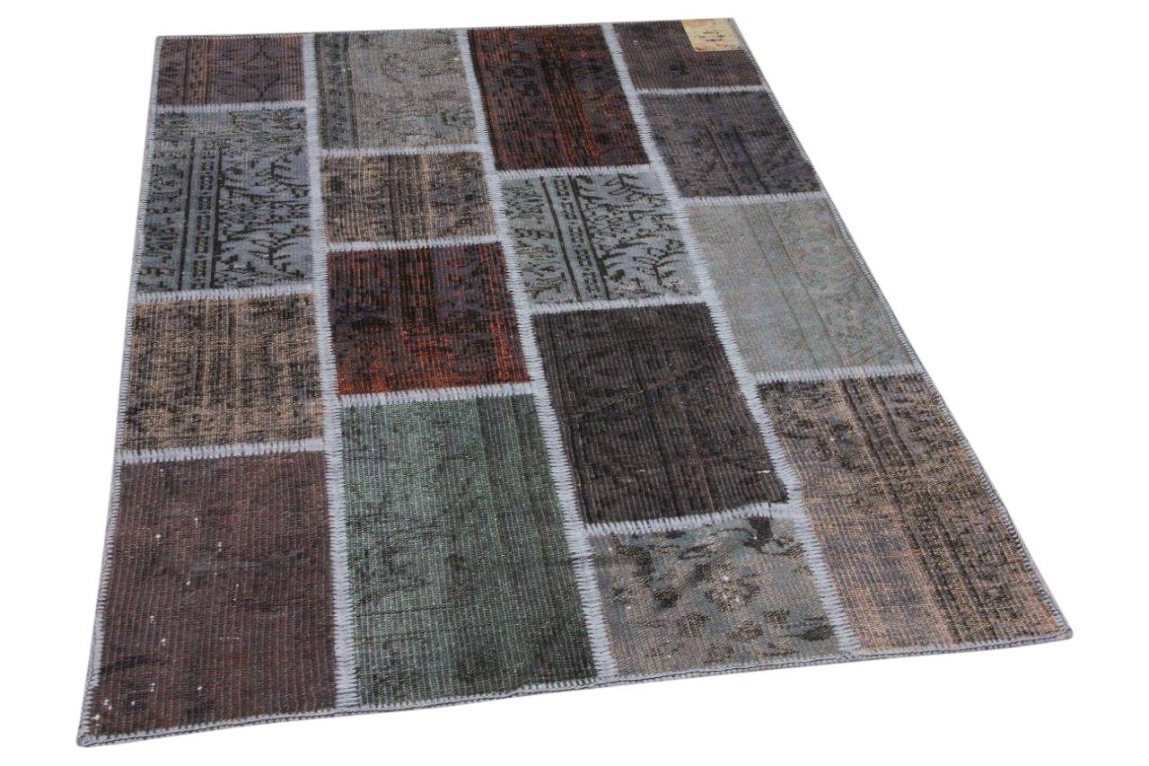 Patchwork vloerkleed diverse kleuren nr.35802 182cm x 122cm