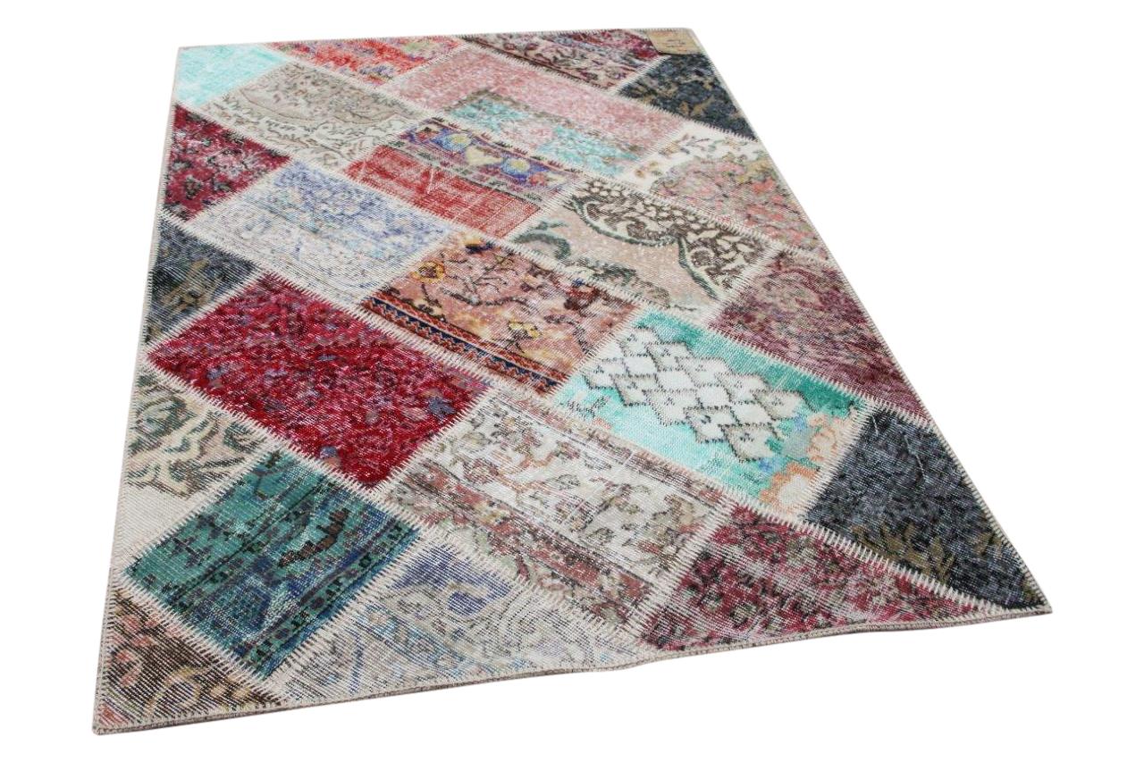 patchwork vloerkleed 35805
