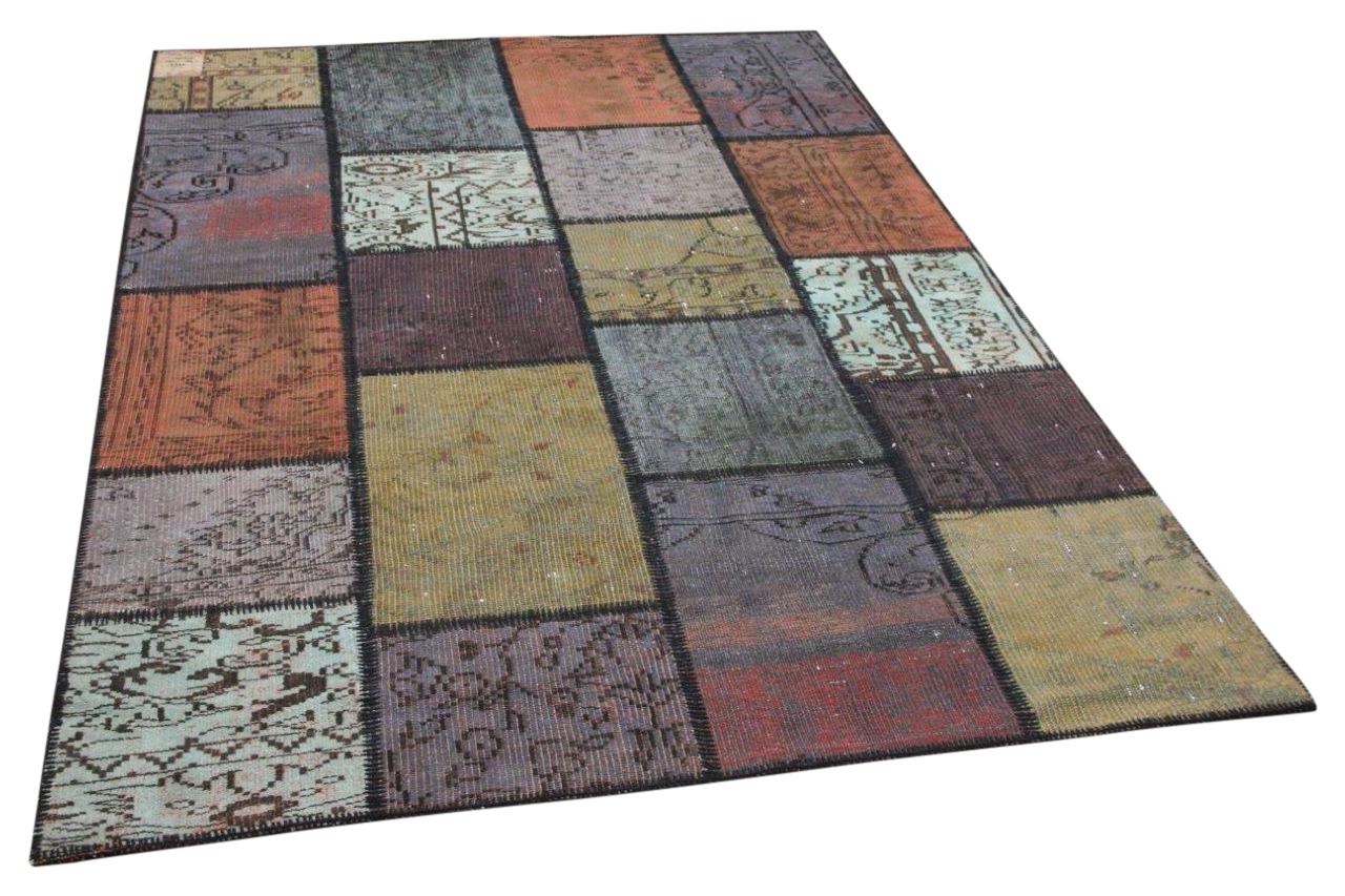 Patchwork vloerkleed diverse kleuren nr.35815 232cm x 162cm