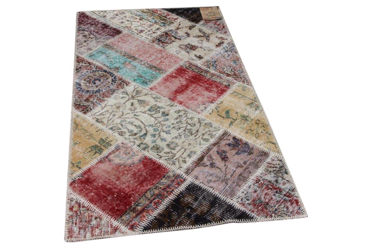 patchwork vloerkleed diverse kleuren nr.36202 82cm x 152cm