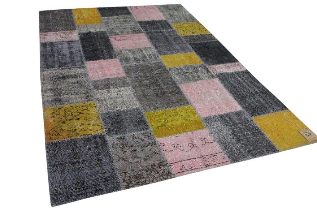 Patchwork vloerkleed diverse kleuren 300cm x 214cm