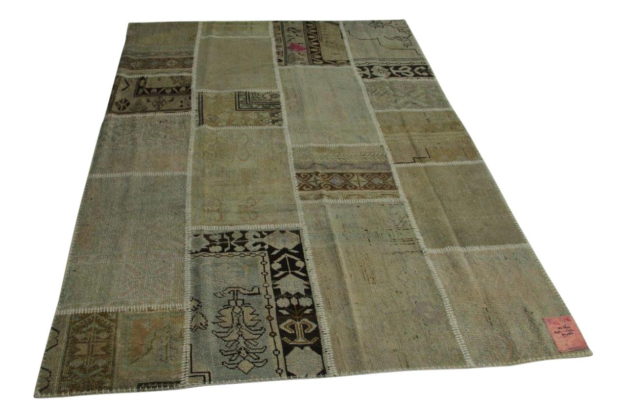 patchwork vloerkleed 242cm x 170cm nr10362