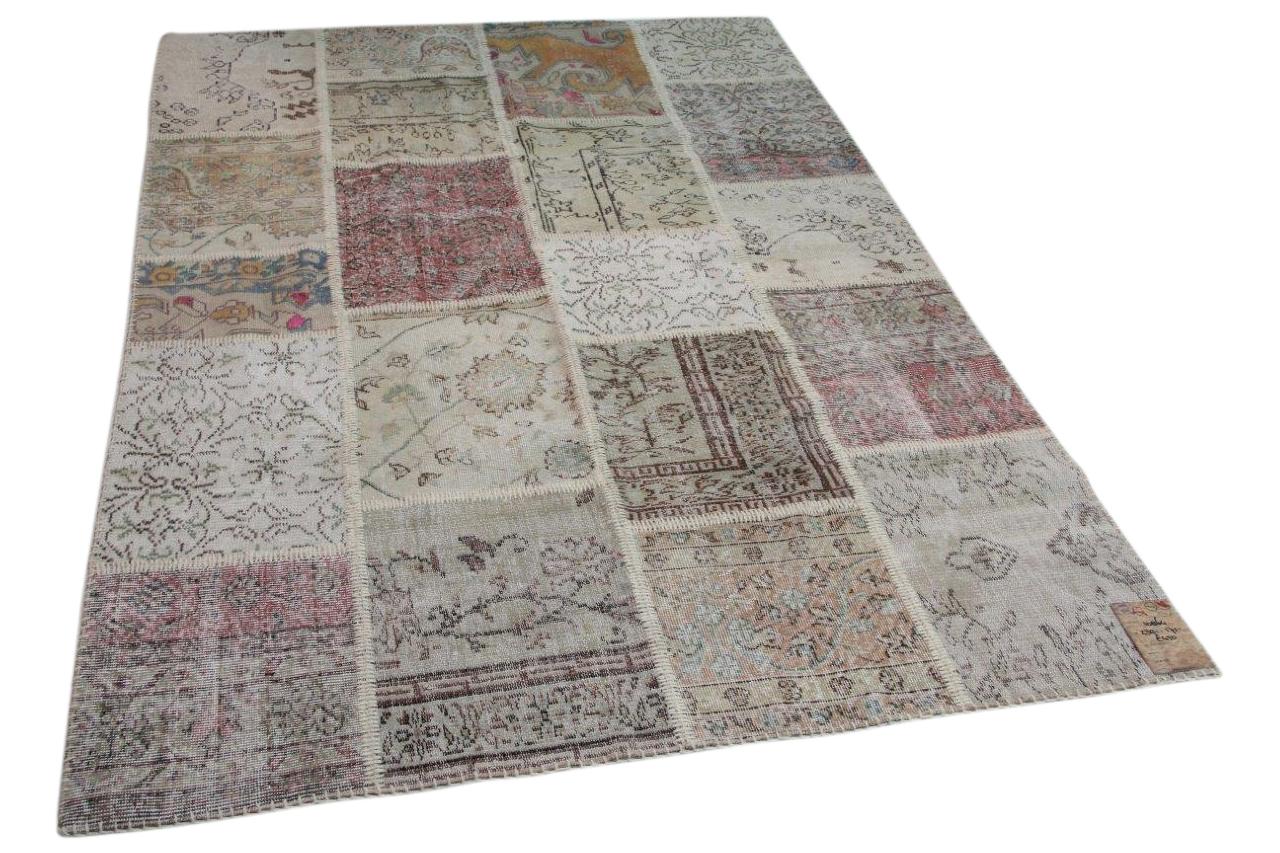 patchwork vloerkleed diverse kleuren