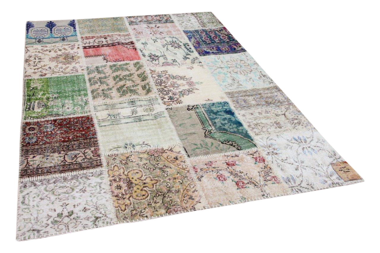 patchwork vloerkleed diverse kleuren nr.10925 240cm x 170cm