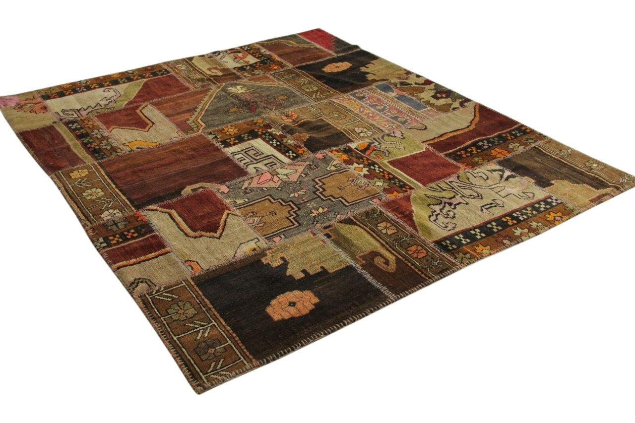 patchwork vloerkleed 250cm x 216cm nr11549