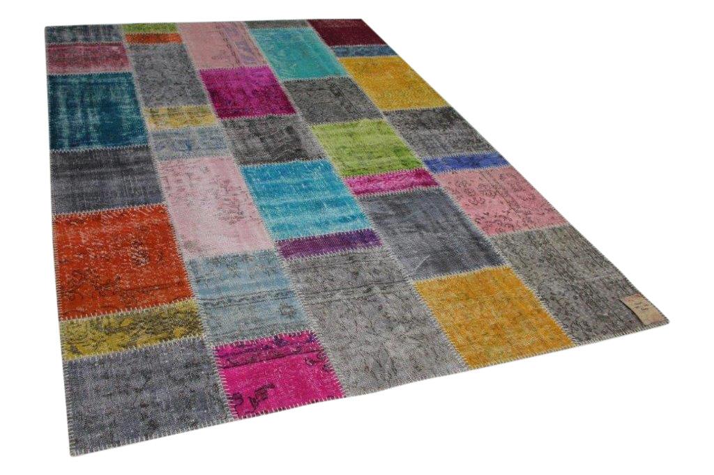Patchwork vloerkleed diverse kleuren 305cm x 215cm