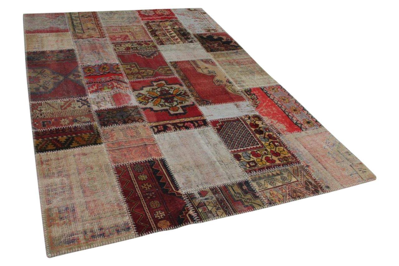 Patchwork vloerkleed  diverse kleuren  305cm x 210cm