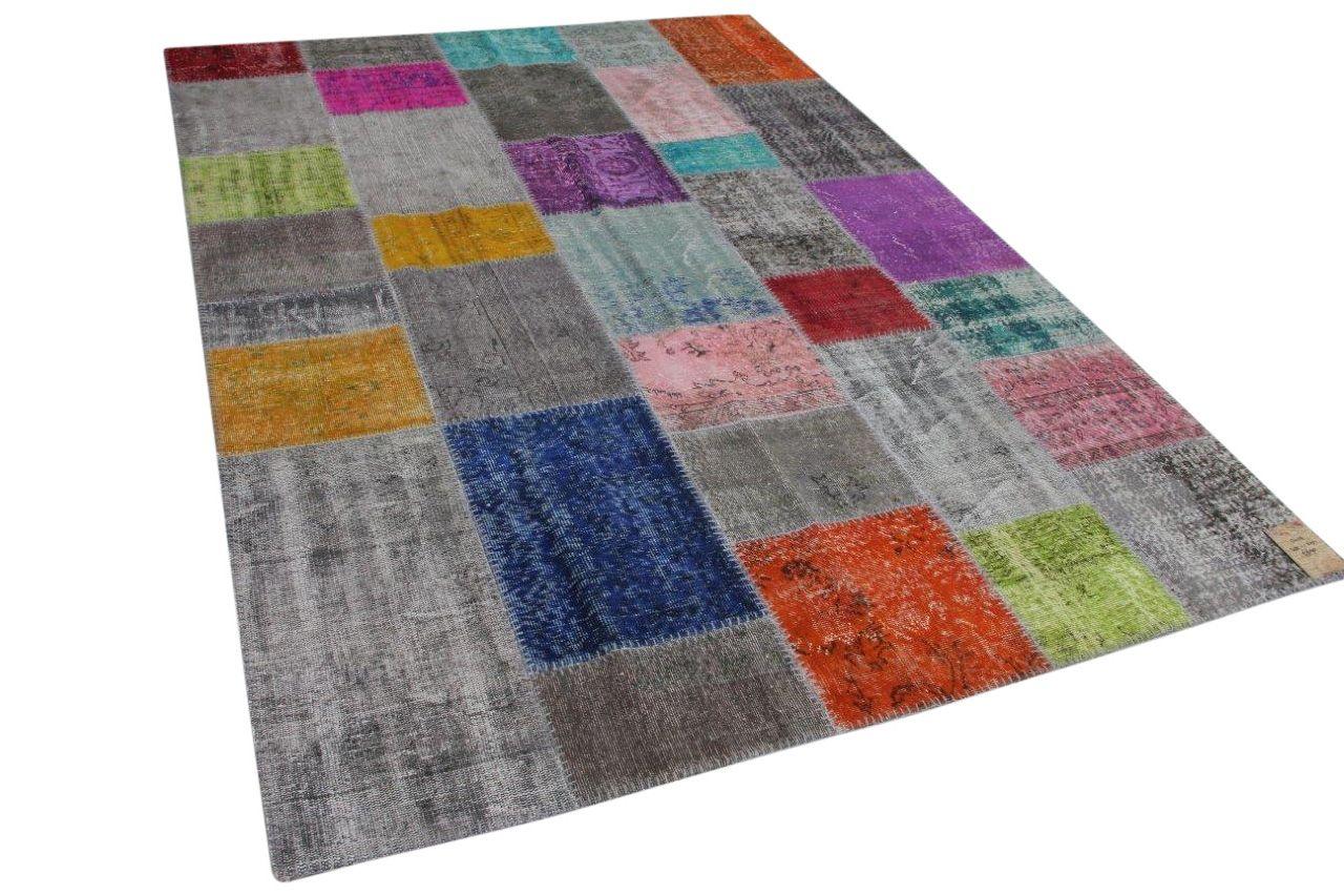patchwork vloerkleed 13419 302cm x 205cm