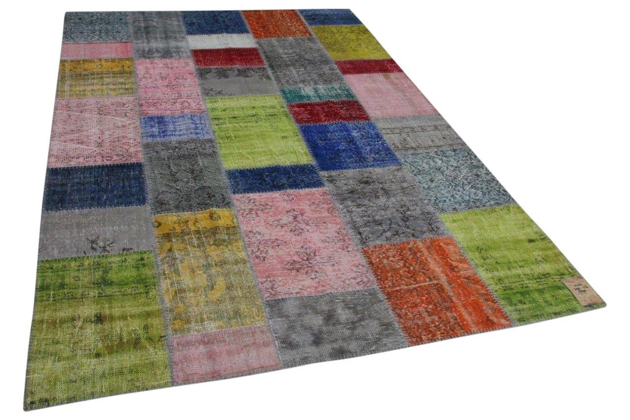 Patchwork vloerkleed diverse kleuren 308cm x 216cm