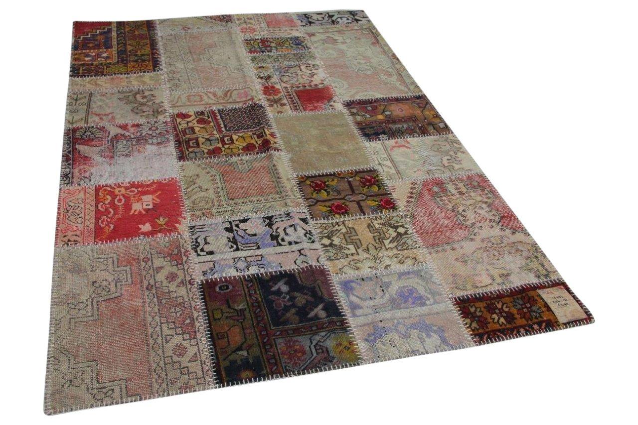 patchwork vloerkleed 1343 246cm x 171cm