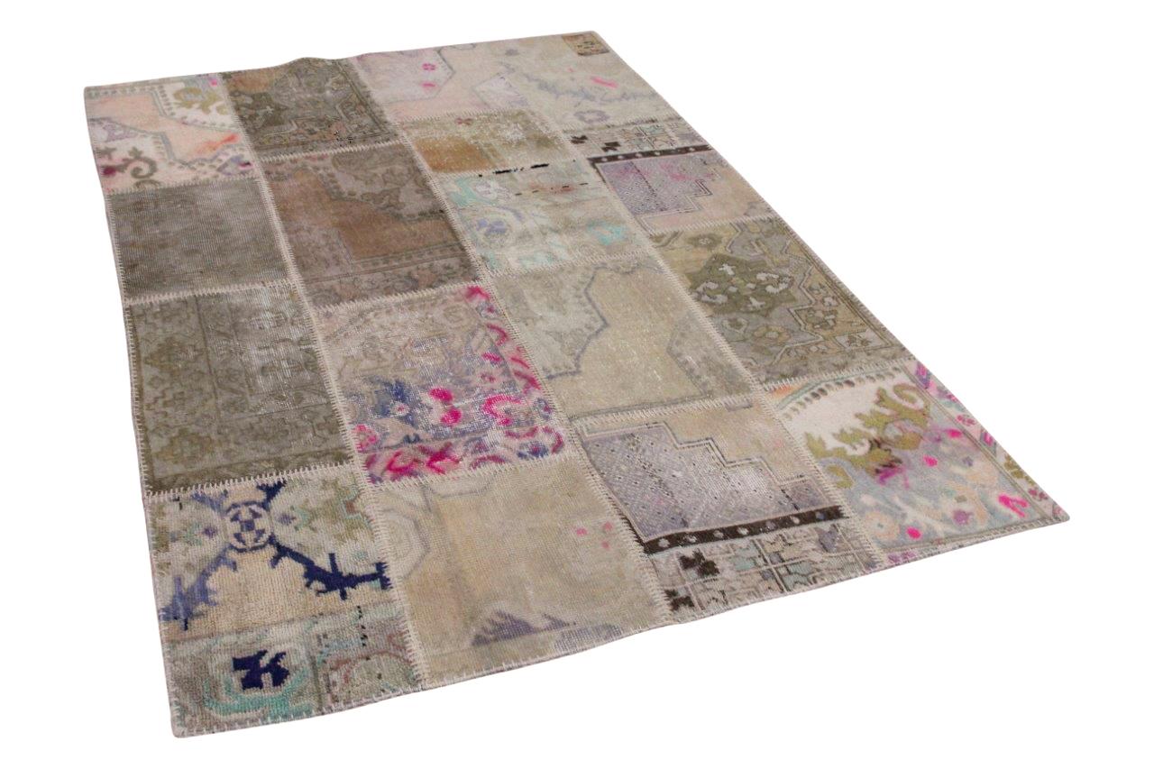 patchwork vloerkleed 230cm x 158cm 21286