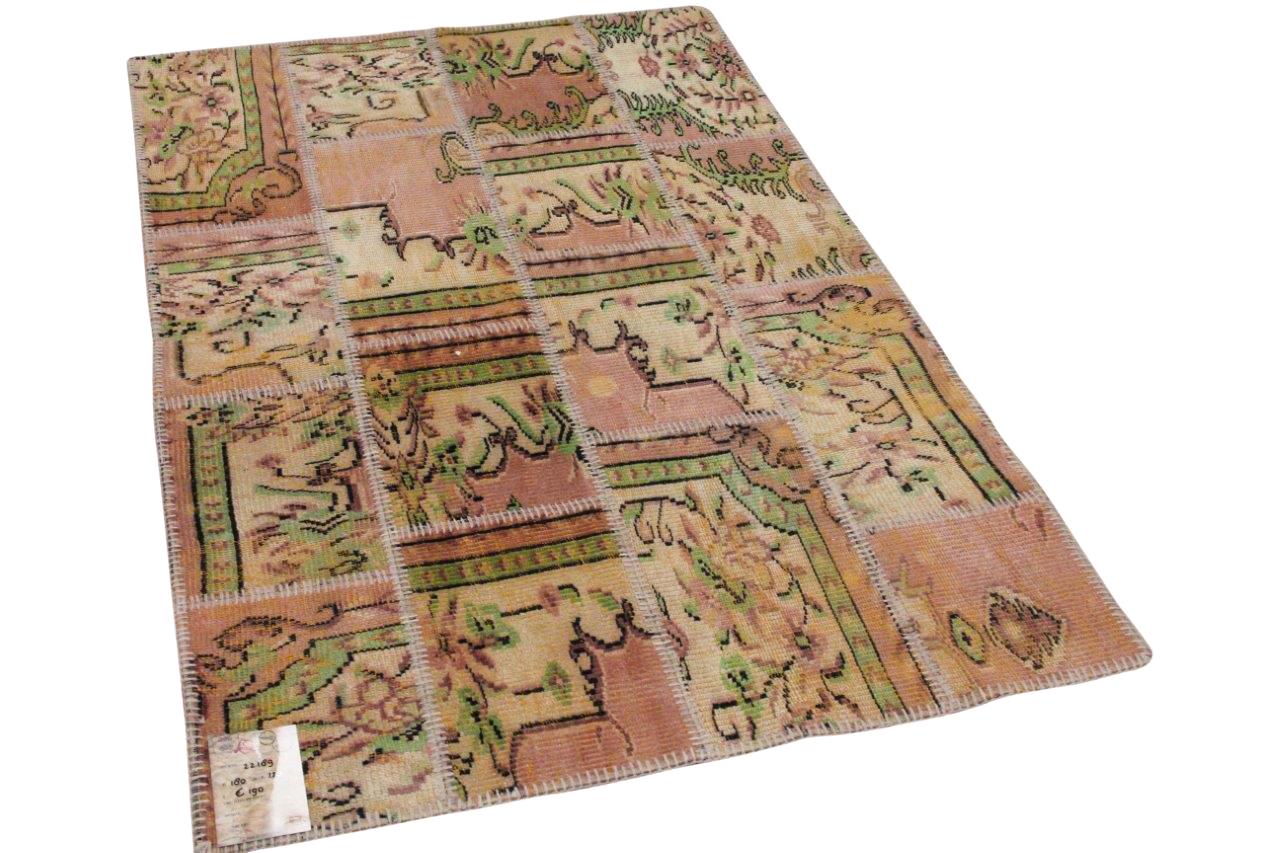 patchwork vloerkleed diverse kleuren nr.22189 180cm x 120cm