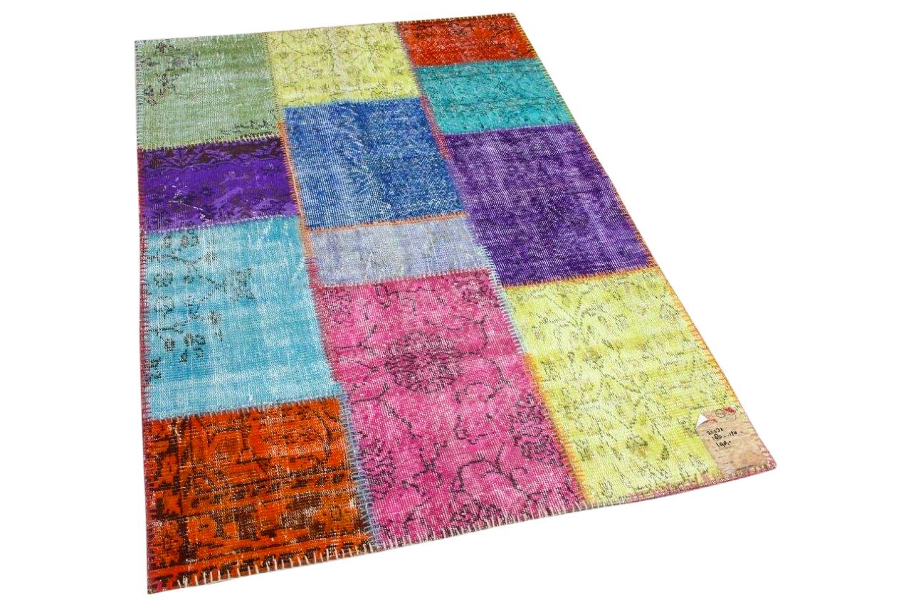 Patchwork vloerkleed diverse kleuren nr.22232 180cm x 120cm