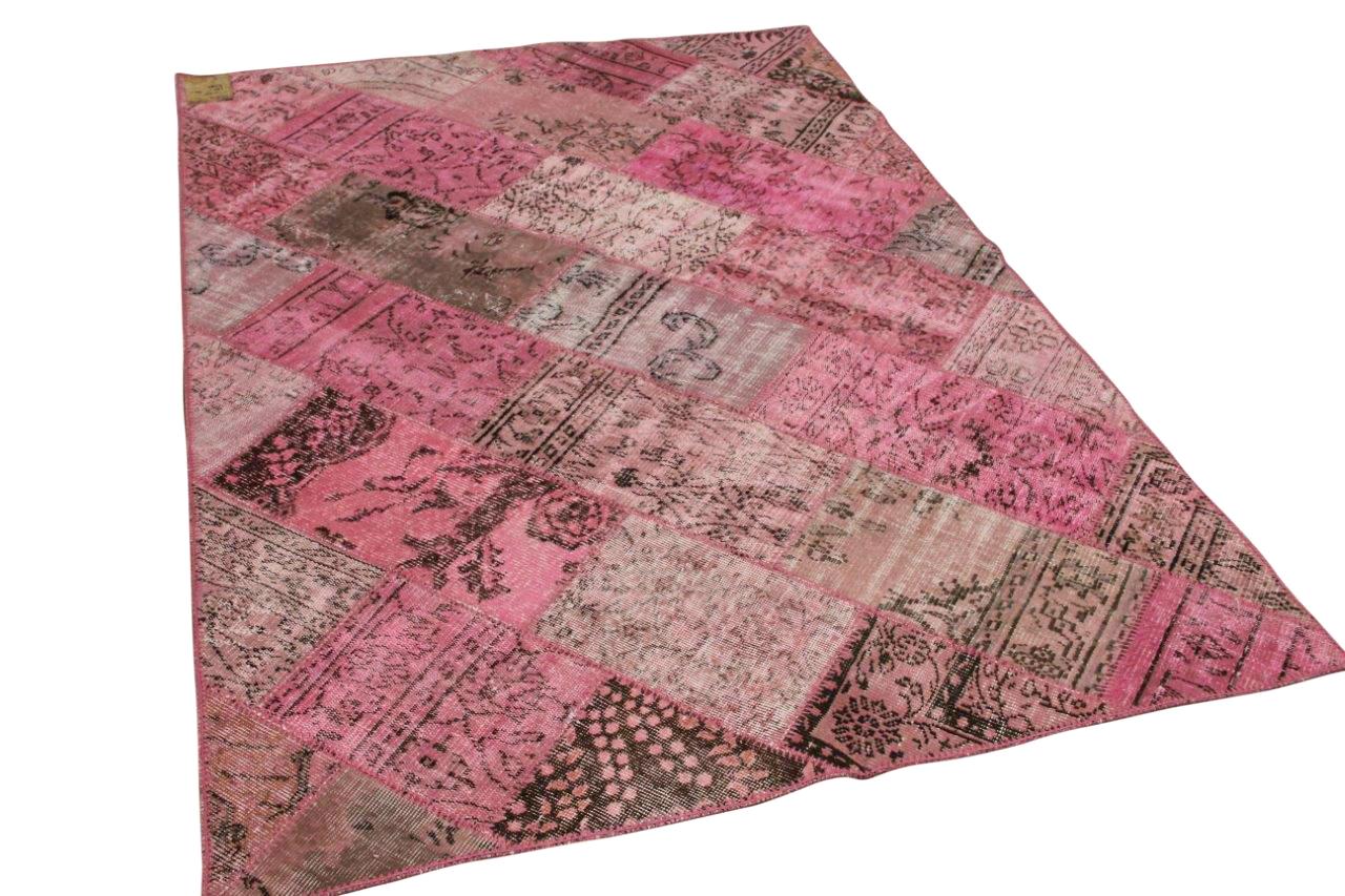 patchwork oud roze 31231