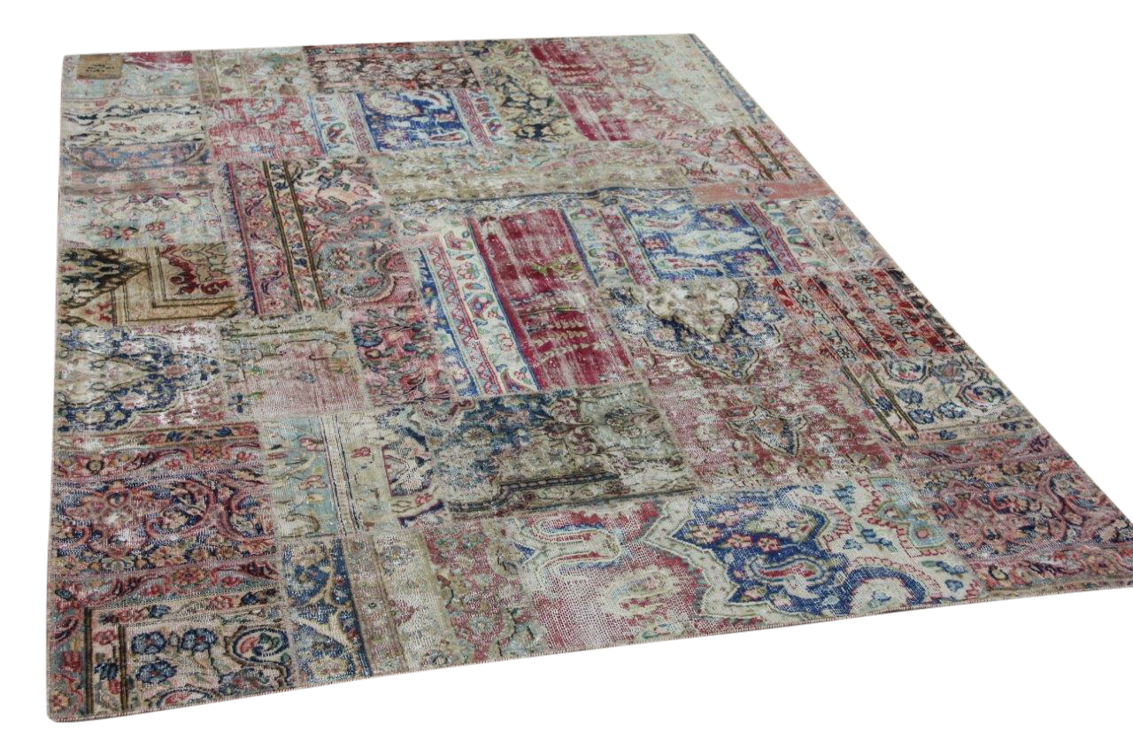 patchwork vloerkleed 59517