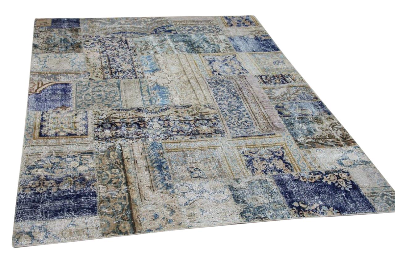 patchwork vloerkleed 59520
