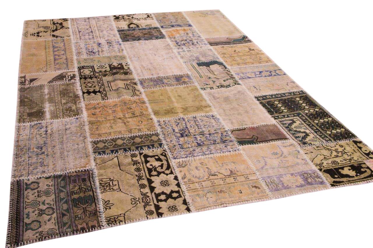 patchwork vloerkleed 308cm x 214cm