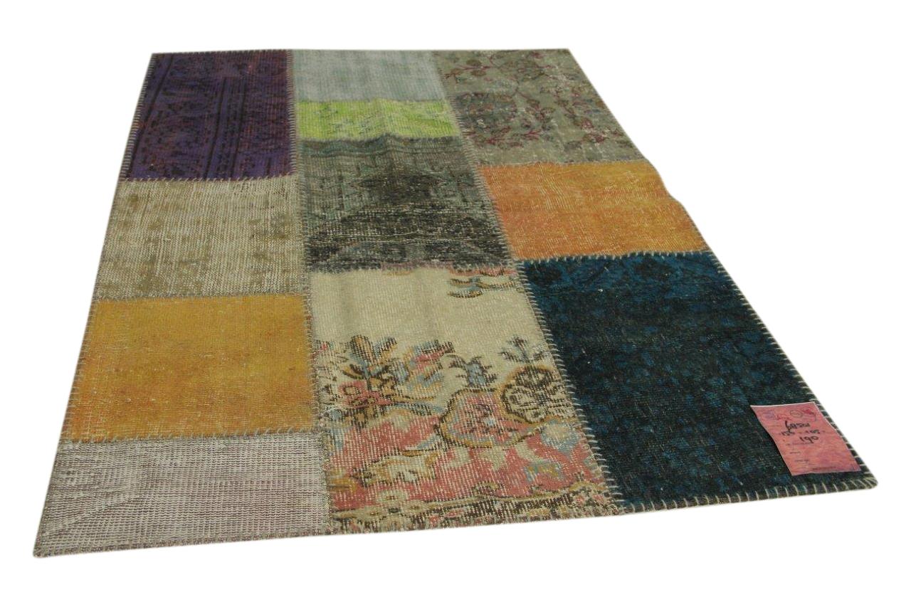 patchwork vloerkleed 156cm x 105cm nr68501