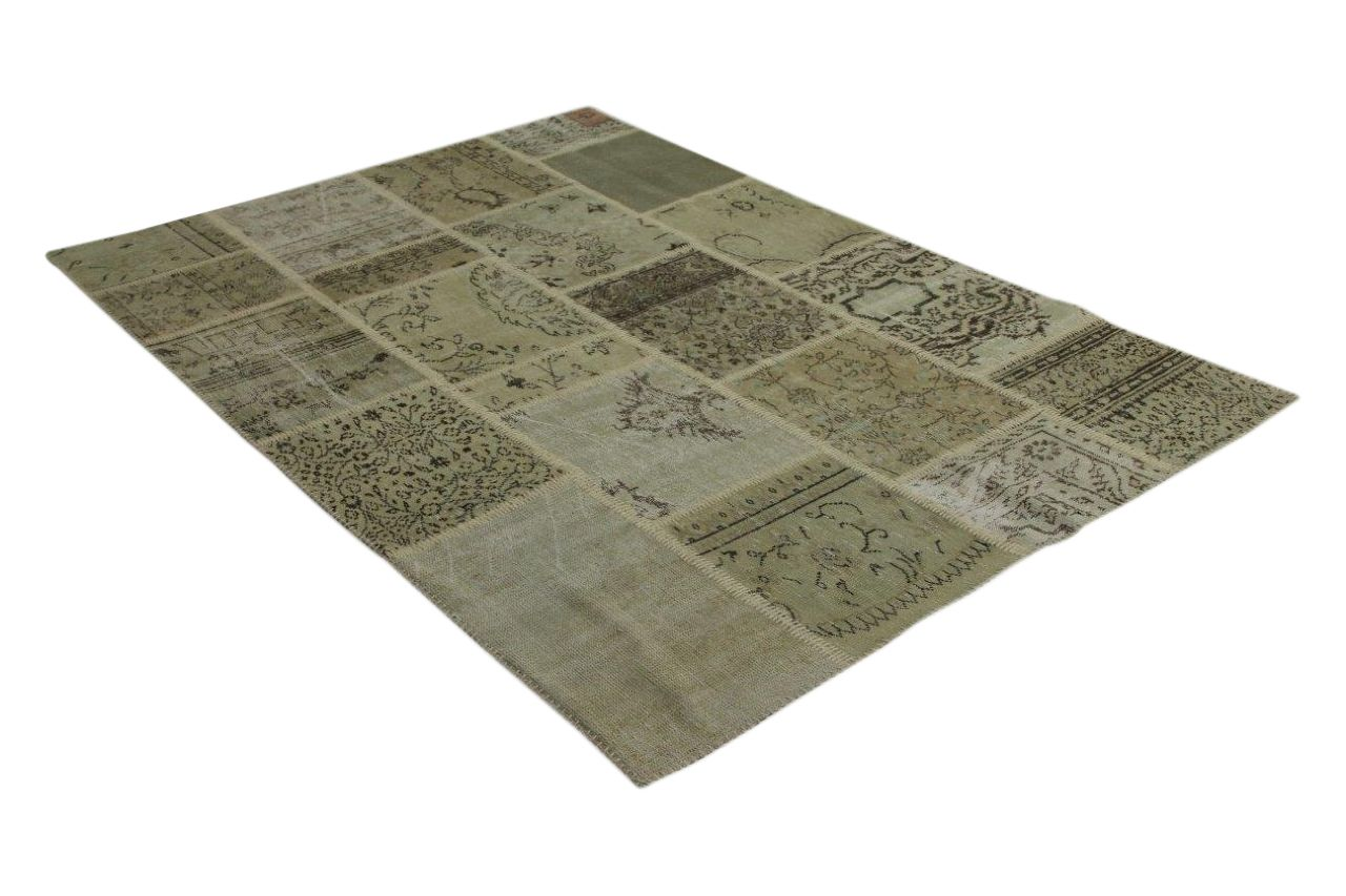 zandkleurig vloerkleed patchwork 240cm x 170cm 9220