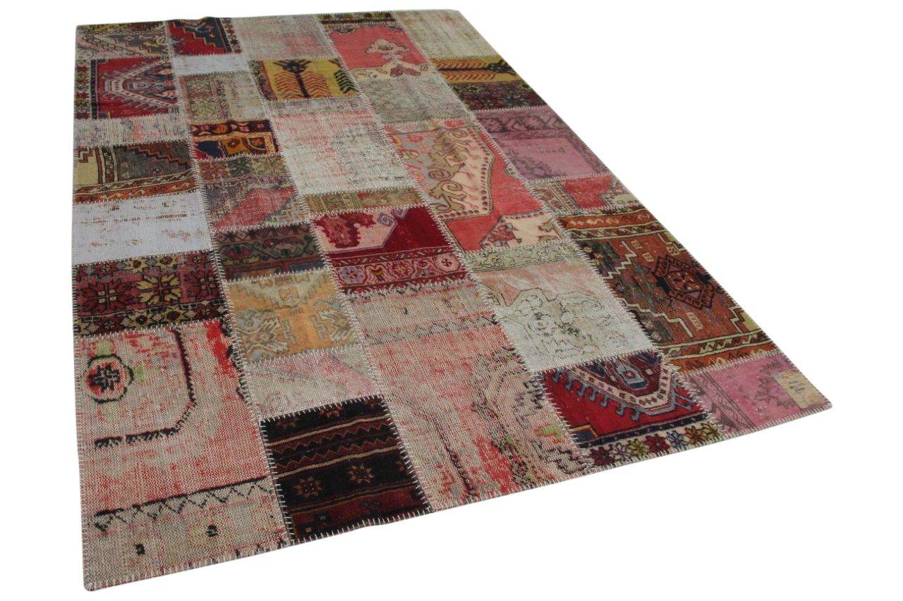 patchwork vloerkleed in diverse kleuren 13420