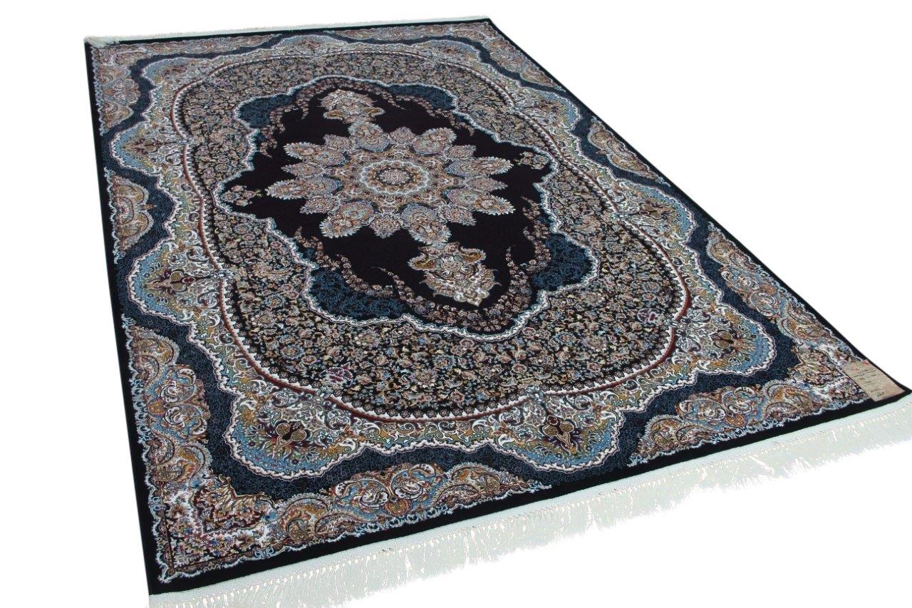 klassiek perzisch vloerkleed op moderne wijze gemaakt 300cm x 200cm 21625