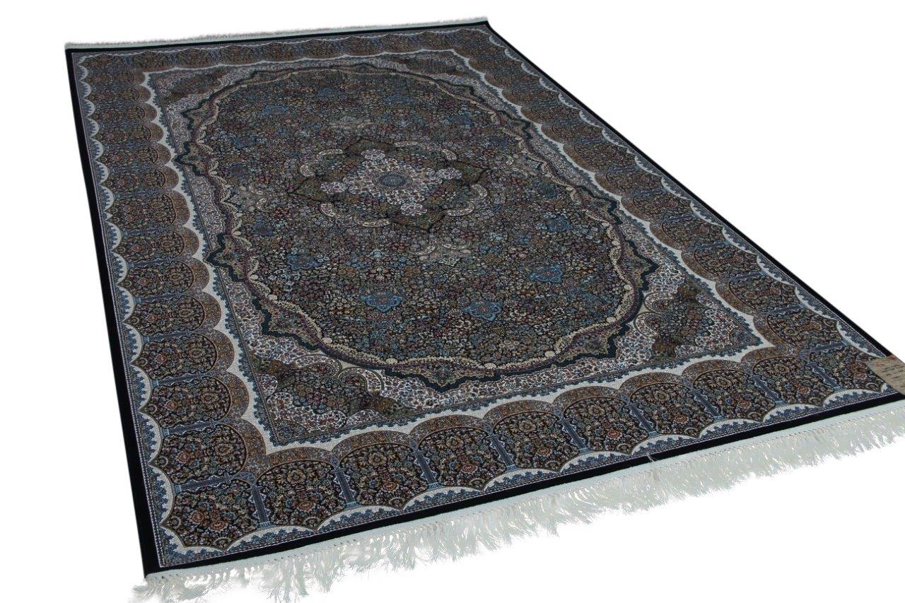 klassiek perzisch vloerkleed op moderne wijze gemaakt 300cm x 200cm 21626