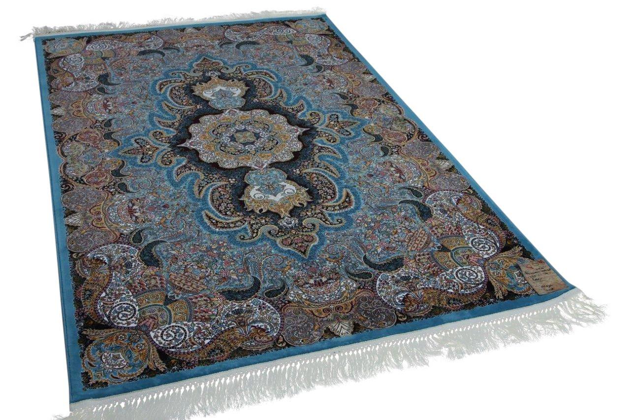 Klassiek perzisch tapijt op moderne wijze gemaakt 225cm x 150cm nr 21637