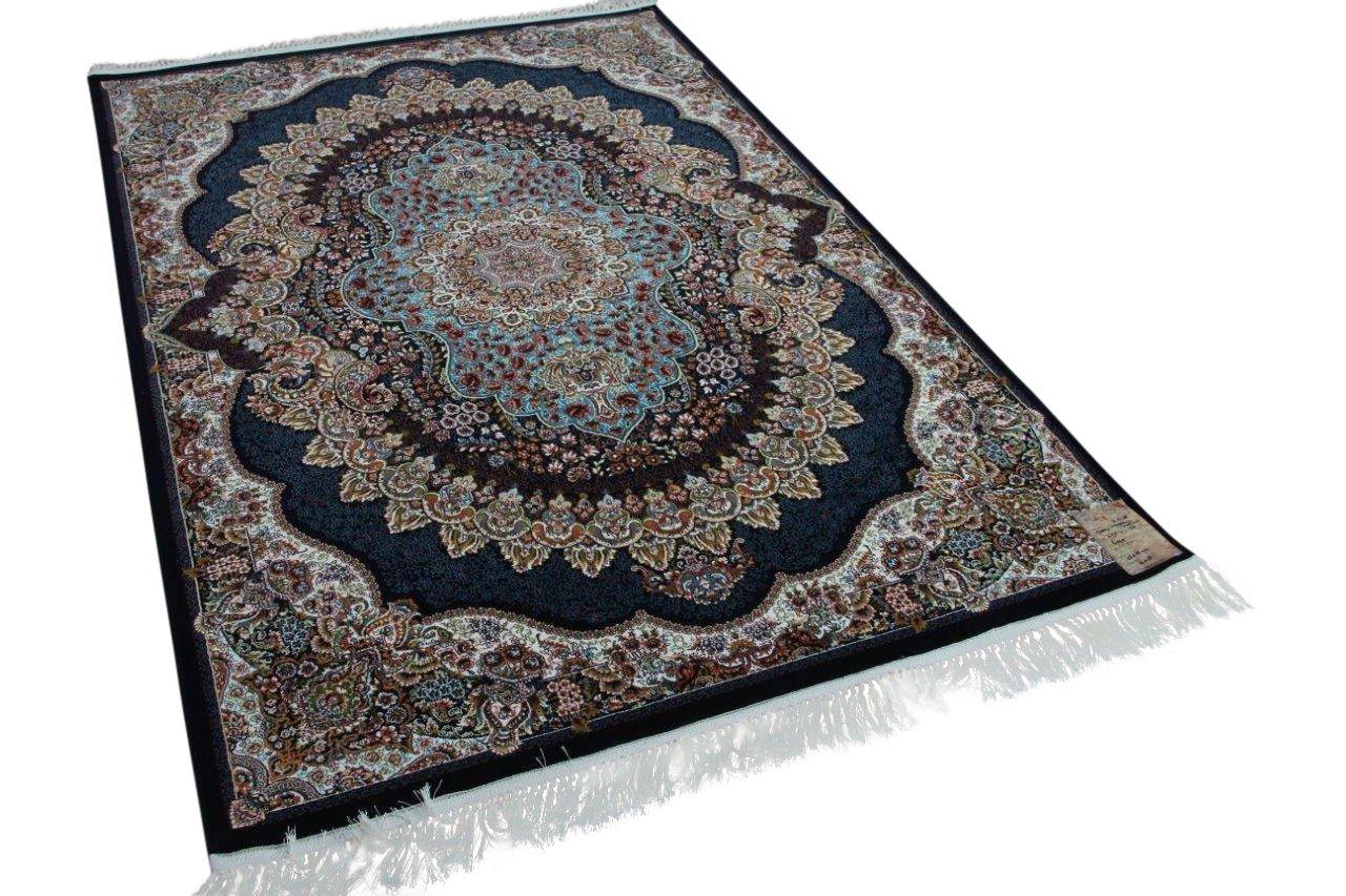 Klassiek perzisch tapijt op moderne wijze gemaakt 225cm x 150cm nr 21638
